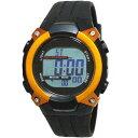 Formia(フォルミア) デジタル電波ソーラーウォッチ FDM7862-OR ブラック/オレンジ