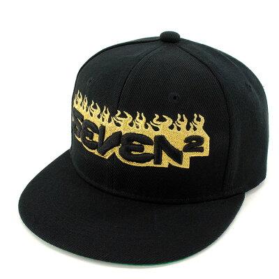 セブンツー SEVEN2 キッズキャップ スナップバック 504990 子供用帽子 BKG