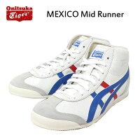 Onitsuka Tigerオニツカタイガー THL328-0142 MEXICO Mid Runnerメキシコミッドランナー WHITExBLUE OT010