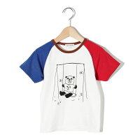 SHOO・LA・RUE Kids  シューラルー キッズ  パンダラグランTシャツ