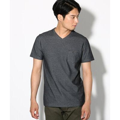 THE SHOP TK Men  ザ ショップ ティーケー メンズ 吸水速乾  セオアルファ糸採用 VネックTシャツ