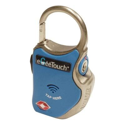 2輪 山城 eGeeTouch スマートトラベルロック ワイヤーplus ブルー GT-1000/BL