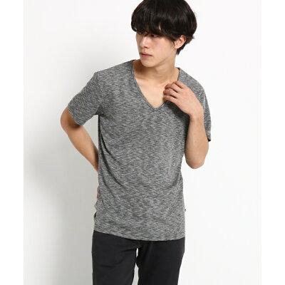 BASE CONTROL Men  ベースコントロール メンズ  SB Tシャツ Vネック