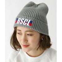 BASE CONTROL LADYS ◆ニットキャップ ビーニー 別注 コラボ(BSCL)35011 ネイビー(093) 99(FREE)