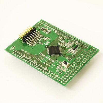 ルネサスエレクトロニクス CPU board for RL78/G13 64-pin/ROM64KB QB-R5F100LE-TB