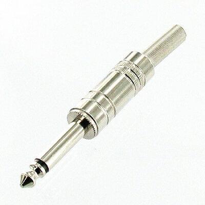 シンワエレクトリック 6.3mm2極メタルプラグSP付 P-106/S