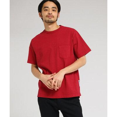 BASE CONTROLMenベースコントロールメンズTシャツ メンズ 製品染め クルーネックTシャツ