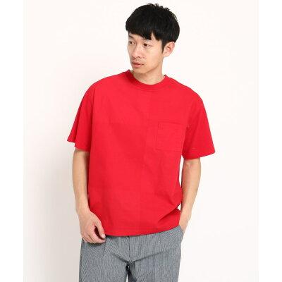 THE SHOP TK Men ザ ショップ ティーケー メンズブロッキングTシャツ
