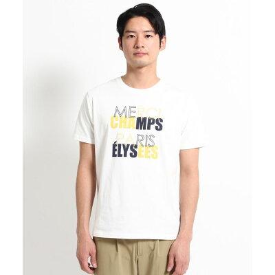THE SHOP TK Men ザ ショップ ティーケー メンズ カラーロゴプリントTシャツ