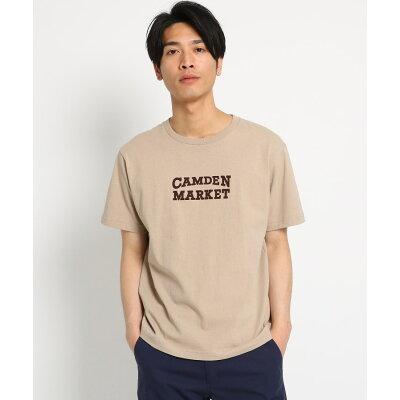 THE SHOP TK Men ロゴプリント半袖Tシャツ