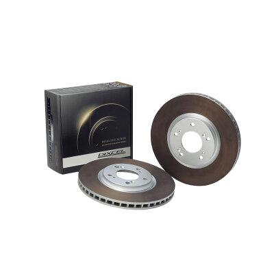 DIXCEL/ディクセル ブレーキローター HD フロント パジェロ イオ 98/6~ H61W/62W/66W/67W HD341 1092S