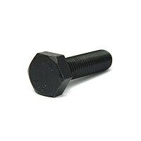 鉄/三価ブラック 六角ボルト 全ねじ M4×30