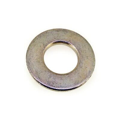 サンコーインダストリー 丸ワッシャー 特寸 表面処理 三価ホワイト 白 規格 10.5X26X32 入数 300