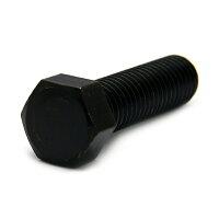 鉄/三価ブラック 小形 六角ボルト 全ねじ M10×45
