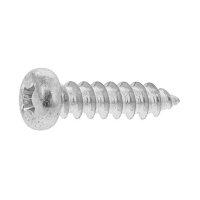 鉄 三価ブラック + ナベタッピング 1種A形 M4.5 × 50