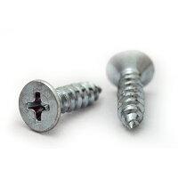 鉄 三価ホワイト + サラタッピング 1種A形 M5 × 130