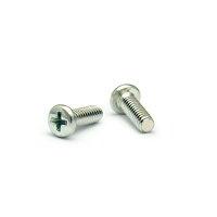 鉄/三価ホワイト + 0番3種 ナベ小ねじM1.7 × 2.2