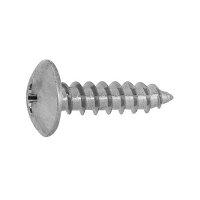 鉄 ノンクロホワイト + トラスタッピング 1種A形 M4.5 × 45