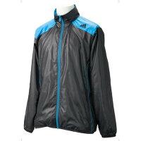 アディダス adidas Basic パイピング ウィンド ジャケット ブラック メンズ ジャケット AJP-CU799-O35937
