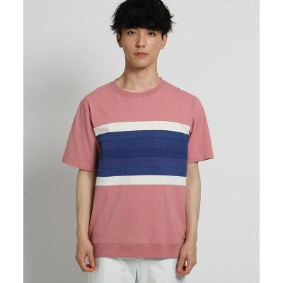 THE SHOP TK Men メンズ テクニカルボーダーTシャツ