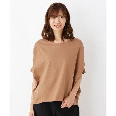 SHOO LA RUE/DRESKIP ジャージ変形袖ビックTシャツ