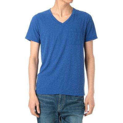 TK VネックTシャツ 170-34125 ブルー系(792) 04(LL)