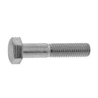 鉄/三価ホワイト 六角ボルト 半ねじ M30×150