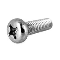 ステンレス/茶ブロンズ GB4号 + ナベ小ねじ 全ねじ M4 × 48