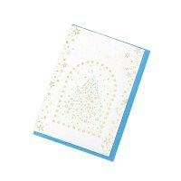 grove ベーシッククリスマスカード シルバー(006) 00