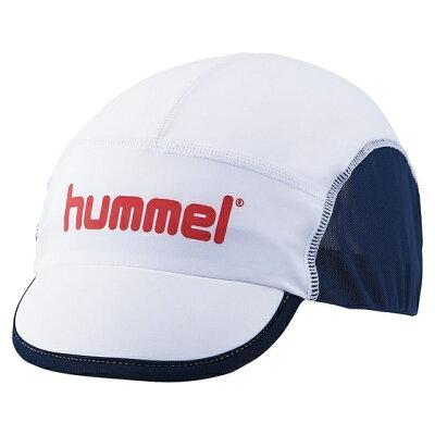 ヒュンメル hummel ジュニアフットボールキャップ ホワイト JF HFJ4048