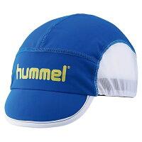 ヒュンメル hummel ジュニアフットボールキャップ ブルー JF HFJ4048