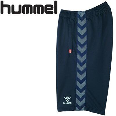 ヒュンメル hummel レディース ハーフパンツ ネイビー×ラディエンスブルー HLT6066 7065
