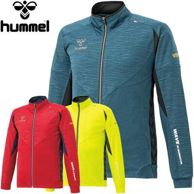 ヒュンメル hummel メンズ サッカー トレーニングウェア UT-ウォームアップ ジャケット 21/チリペッパー HAT2076