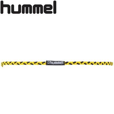 ヒュンメル hummel サッカー フットサル ハンドボール ラクロス 三つ編み ヘアゴム 3090/イエロー×ブラック HFA9108