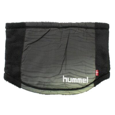 hummel ヒュンメル 布帛+裏ボアネックウォーマー  hfa4080-0-16skn