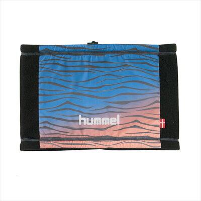 hummel ヒュンメル布帛+裏フリースネックウォーマー HFA4081 63 ロイヤルブルー