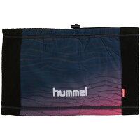 hummel ヒュンメル布帛+裏フリースネックウォーマー HFA4081 70 ネイビー