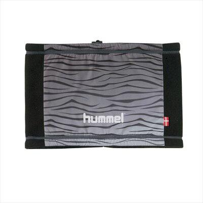 hummel ヒュンメル 布帛 裏フリースネックウォーマー メンズ 防寒アクセサリー hfa4081-16skn