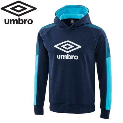アンブロ UMBRO メンズ レディース サッカーウェア AL.スウェットパーカー ネイビー UMUOJF24 NVY