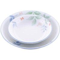 和食器コレクション 強化ささやき 丸皿3.5寸