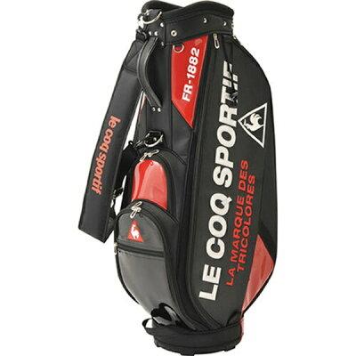 le coq sportif GOLF キャディバッグ ロゴデザインエナメルキャディバッグ(9.0型/ブラック) QQBPJJ08 BK00