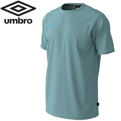 アンブロ サッカ- URA.ビッグロゴコットン半袖シャツ ユニセックス UUUPJA61-UGRY