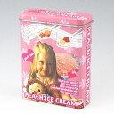 ピーチアイスクリーム柄 デザイン柄 シガレットケース キャンディー缶