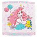 ディズニープリンセスウォッシュタオルアリエル人魚姫リトルマーメイド姫ジャガプリディズニータオル