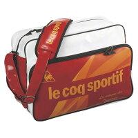 ルコック lecoqsportif エナメルバッグ M QA-322835 F RED