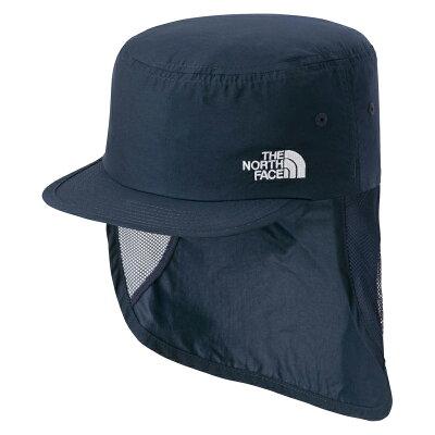 ノースフェイス K SUNSHIELD CAP サンシールドキャップ キッズKM UN アーバンネイビーNNJ01806