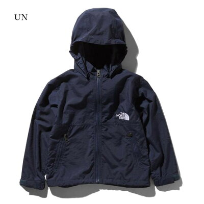 THE NORTH FACE ザ・ノースフェイス COMPACT JACKET コンパクト ジャケット Kid's 150 UN アーバンネイビー NPJ21810