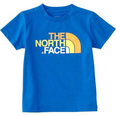 ノースフェイス THE NORTH FACE キッズ トップス ショートスリーブカラフルロゴティー S/S Colorful Logo Tee ターキッシュブルー NTJ31823 TH