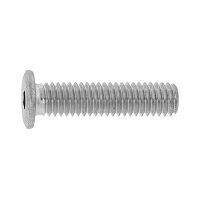 鉄 SCM435 /三価ブラック 極低頭 極薄ローヘッド 全ねじ M12×12