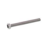鉄/スズコバルト + ナベ小ねじ 全ねじ M8 × 25